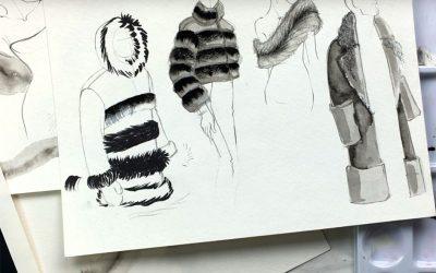 Fashion Illustration – Die Kunst Mode zu zeichnen